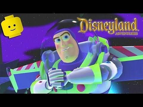 TOY STORY Buzz Lightyear Cartoon Games Videos for Kids Children - Disneyland Adventures #2