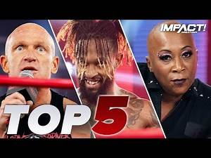 Top 5 Must-See Moments from IMPACT Wrestling for Dec 1, 2020   IMPACT! Highlights Dec 1, 2020