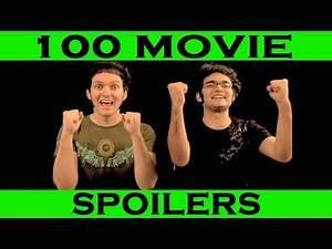 Spoiler Alert! - 100 Movie Spoilers in 5 Minutes - (Movie Endings Ruined)