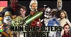Star Wars: The Clone Wars Main Characters Tier List