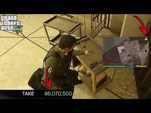How To Rob Diamond Casino In GTA 5 Story Mode(Secret Arcade Cheat)