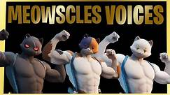 All Meowscles Voices/Voicelines in fortnite chapter 2 Season 2 | Fortnite Henchman Voices