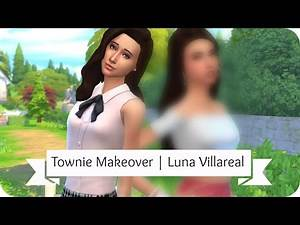 Sims 4 Townie Makeover | Luna Villareal