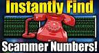 How To INSTANTLY Find Scammer Phone Numbers! (Tutorial)