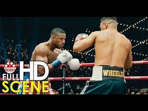 Creed knocks out Wheeler for his mustang & World heavyweight title - Creed II 2018 Full HD