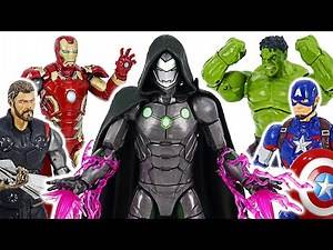 Marvel Legends Avengers Doctor Doom Infamous Iron Man appeared! | DuDuPopTOY