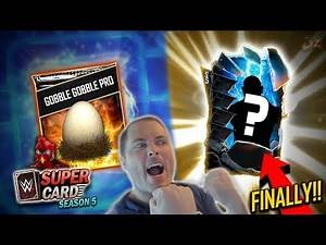 FINALLY A SHATTERED PULL!! Gobbledy Gooker Pro! | WWE SuperCard Season 5