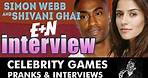 Simon Webbe from Blue & Actress Shivani Ghai Interview - Everywhere and Nowhere