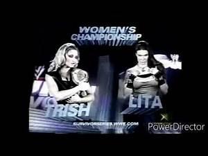 WWE Survivor Series 2004 Lita Vs Trish Stratus For The WWE Womens Championship Match Promo.