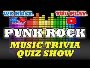 """Play a """"Punk Rock"""" Quiz Show! - Mack Flash Trivia Quickies"""
