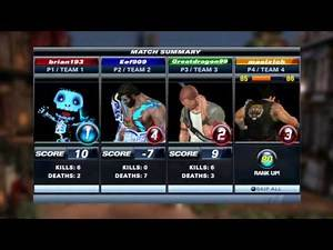 Playstation All-Stars Battle Royale Ranked Part 2