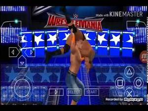WWE svr 2011 psp how to break hell in a cell