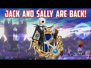 JACK AND SALLY ARE BACK! - Kingdom Hearts Unchained X