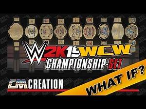 WWE 2K19 | WHAT IF | WCW CHAMPIONSHIP-SET ARENA LOGOS | CREATION | CatchoMania