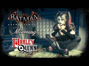 SKIN; Batman; Arkham Knight; Mourning Harley Quinn