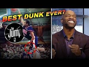 "Vince Carter Didn't Know He Jumped Over 7'2"" French Player On His Famous Olympic Dunk 