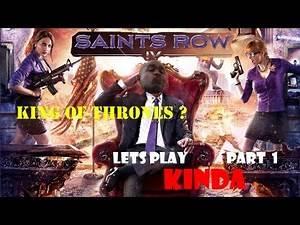 ►►Presidential AssWhipping!! - Saints Row 4 - Lets Play KINDA Part 1 ( w/ BlastphamousHD )cheats