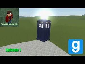 Garry's mod ep 1 - FIVE NIGHTS AT FREDDYS and DOCTOR WHO
