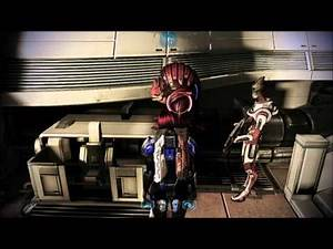 Mass Effect 3 - Shepard, Wrex, Liara, Garrus, Mordin and Kirrahe On Sur'Kesh