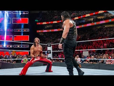 Final 4 of the Royal Rumble Match: Royal Rumble 2018