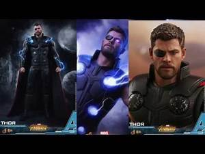 Avengers Infinity War Hot Toys Thor Movie Masterpiece 1/6 Scale Figure Reveal!