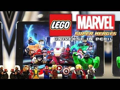Let's Play - Lego Marvel Super Heroes Universe In Peril - In App Purchases, Characters