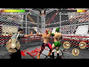 Wrestling Cage Revolution (by BigCube Games) Android Gameplay [HD]