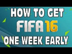 HOW TO GET FIFA 16 ONE WEEK EARLY! - EARLY ACCESS RELEASE DATES & ALL INFORMATION!