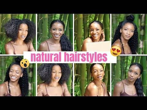 5 MIN HEATLESS WORK HAIRSTYLES FOR BLACK GIRLS! (Fast and easy)   Annesha Adams