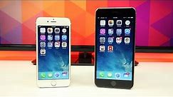 iPhone 6 vs iPhone 6 Plus - Size Matters