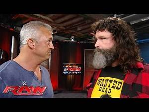 Shane McMahon questions Mick Foley's decision to work with his sister: Raw, July 18, 2016