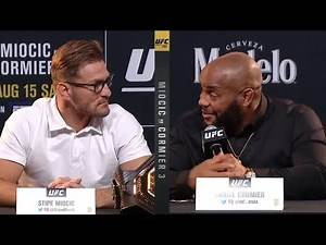 UFC 252: Pre-fight Press Conference Highlights
