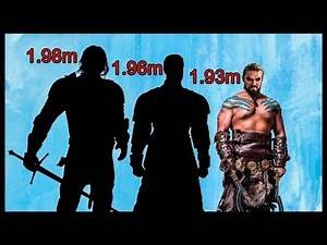Top 25 Tallest Characters in Game of Thrones (Updated List 2019) 185cm/6'1''