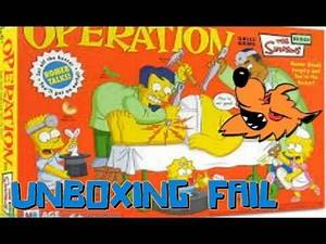 UNBOXING FAIL: The Simpsons Operation
