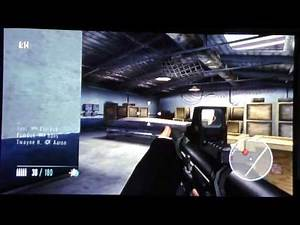 cheaters playing 007 goldeneye Wii (online multiplayer conflict docks)