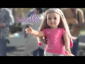 Discover the Story of Isabelle Girl Of The Year American Girl 2014