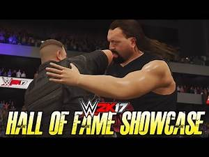 WWE 2K17 2K Showcase - BIG SHOW vs BIG BOSSMAN!! (Hall of Fame 2K Showcase DLC)