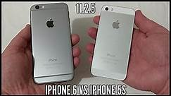 iPhone 6 vs iPhone 5s In 2018. iOS 11.2.5 Speed Test Comparison