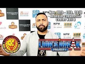 Rocky Romero's special announcement for Lion's Break