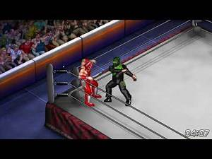 Fire Pro Wrestling World Move Craft: The Violence Party