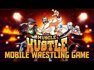 IS THAT BROCK LESNAR?! - The Muscle Hustle iOS/Android Mobile Wrestling Game