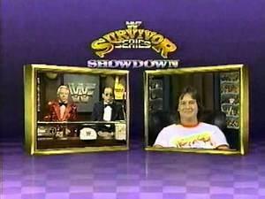 Roddy Piper, Gorilla and Brain host Survivor Series Showdown (11-12-1989)