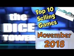 Top 10 Selling Games: November 2018