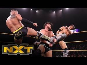 Undisputed ERA vs. Gallus – Dusty Rhodes Tag Team Classic First Round Match: WWE NXT, Jan. 8, 2020