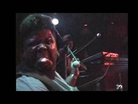 """Buddy Miles at Chicago Blues, N.Y. April 17th, 1999 Part 1 """"All Along The Watchtower"""""""