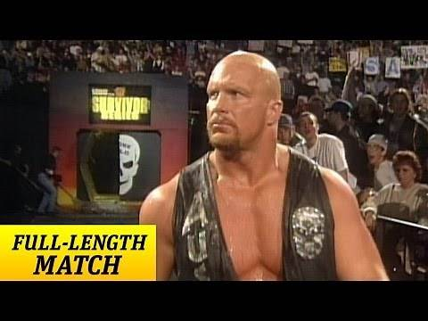 """Stone Cold"" Steve Austin returns from injury - Survivor Series 1997"