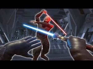 VR STAR WARS LIGHTSABER MOD! (Blade and Sorcery Funny Moments)