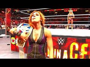 Charlotte Flair VS Becky Lynch - WWE Hell in a Cell 2018