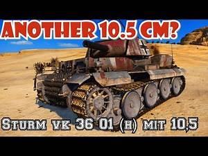 Tank review Sturm Vk 36.01    World of Tanks Console PS4 XBOX Mercenaries