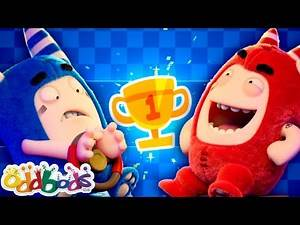 Oddbods 🎮 Video Games 🎮 Funny Cartoons For Kids